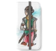 Lady adventurer iPhone Wallet/Case/Skin