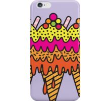 Mega Ice Cream Cone iPhone Case/Skin