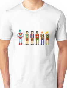 Captain Planet and the Pixelteers Unisex T-Shirt