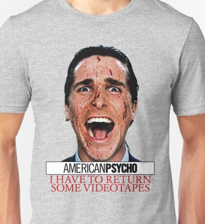 American Psycho - Patrick Bateman - Christian Bale Unisex T-Shirt
