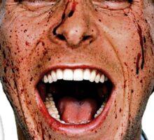 American Psycho - Patrick Bateman - Christian Bale Sticker
