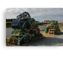 Mullaghmore Lobster Pots Canvas Print