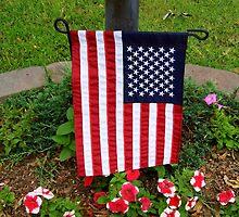 Garden Flag by WildestArt