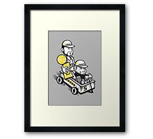 Fundamental Duo : Championship Edition Framed Print