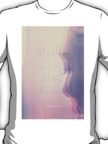 martha marcy may marlene - pink T-Shirt