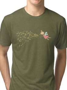 Whimsical Magic Fairy Princess Sprinkles Tri-blend T-Shirt