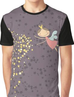 Whimsical Magic Fairy Princess Sprinkles Graphic T-Shirt