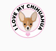 Love My Chihuahua Womens Fitted T-Shirt