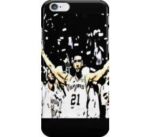 Tim Duncan Winning iPhone Case/Skin