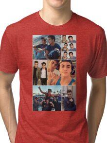 Dolan twins collage  Tri-blend T-Shirt