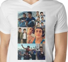 Dolan twins collage  Mens V-Neck T-Shirt