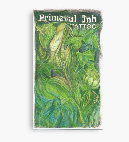 Primeval Ink Tattoo Elf Girl Canvas Print