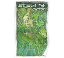 Primeval Ink Tattoo Elf Girl Poster