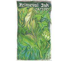 Primeval Ink Tattoo Elf Girl Photographic Print