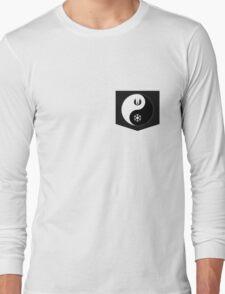 Jedi Yin and Sith Yang Long Sleeve T-Shirt