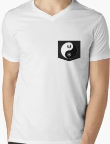 Jedi Yin and Sith Yang Mens V-Neck T-Shirt