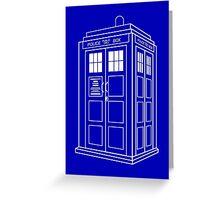 The Blue Box Greeting Card
