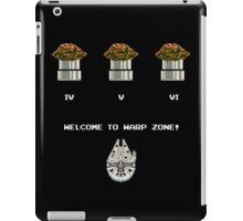 Warp Speed Zone! iPad Case/Skin