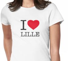 I ♥ LILLE Womens Fitted T-Shirt