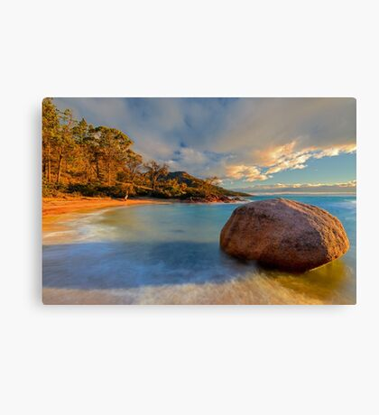 Lonely Boulder Canvas Print