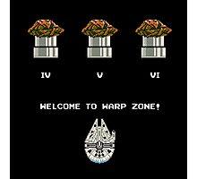 Warp Speed Zone! Photographic Print