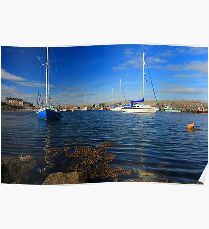 Mullaghmore Harbour Poster