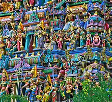 Sri Mariamman Temple by phil decocco