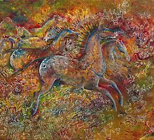Cave Horses by SuzanneShepherd