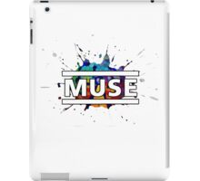 Muse Splatter Logo iPad Case/Skin