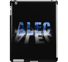 Alec - Shadowhunters - Fog iPad Case/Skin