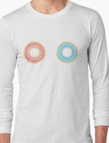 Donut Stare Long Sleeve T-Shirt