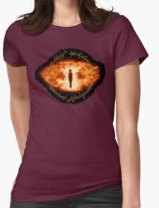 Sauron -- One Ring Womens Fitted T-Shirt