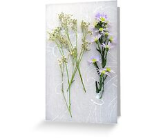 Simple flora, beautiful nature Greeting Card