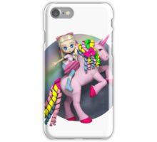 I didn't believe in unicorns until I rode one. iPhone Case/Skin