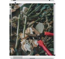 gardening iPad Case/Skin