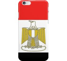 Egypt Map With Egyptian Flag iPhone Case/Skin