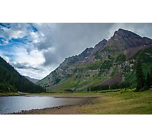 Crater Lake - Aspen, Colorado Photographic Print