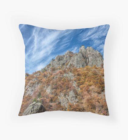 Majestic Mountains I Throw Pillow