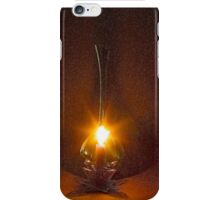 A candle flame and breeze - Fractalius iPhone Case/Skin
