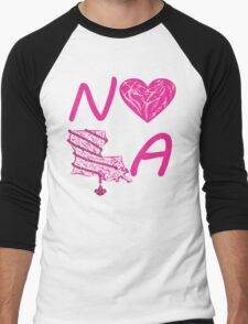 I heart NOLA (Pink/Cranberry) T-Shirt