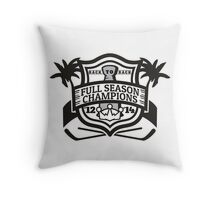 Back to Back Full Season Champions - Modern Throw Pillow