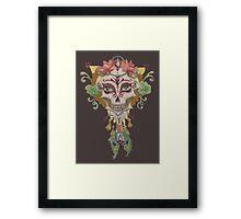 Mucha Muerto Framed Print