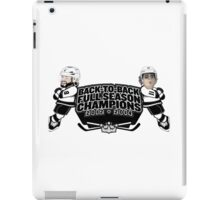 Back to Back Full Season Champions - Cartoon iPad Case/Skin