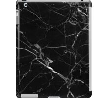 black marble iPad Case/Skin