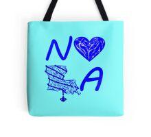 I heart NOLA (Blue) Tote Bag