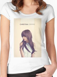 grimmie Women's Fitted Scoop T-Shirt