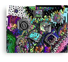 TV doodle  Canvas Print