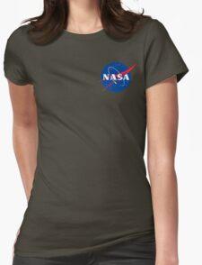 Nasa (Hoodie) Womens Fitted T-Shirt