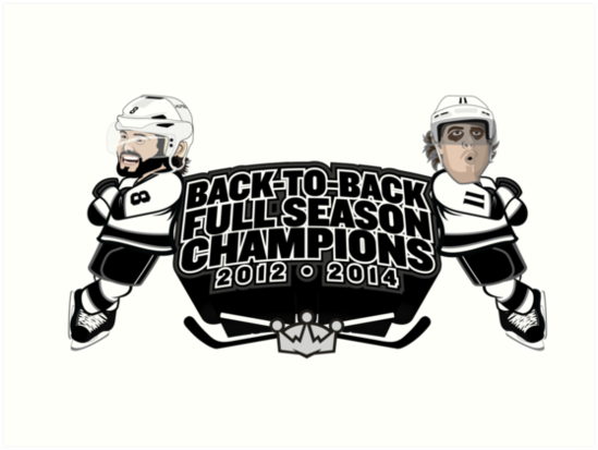 Back to Back Full Season Champions - Cartoon by theroyalhalf