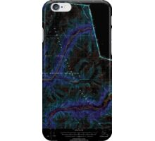 USGS TOPO Map Alaska AK Bradfield Canal A-2 354712 2000 63360 Inverted iPhone Case/Skin